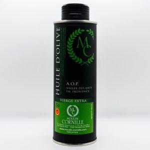 Huile d'olive Extra Vierge la Fruité Vert du Moulin Cornille