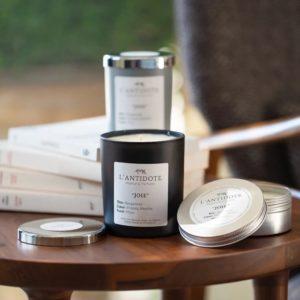 Bougie parfumée à la Bergamote au Fressia et à la Menthe